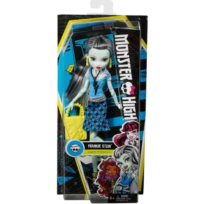 Monster High Frankie Stein primer día de escuela