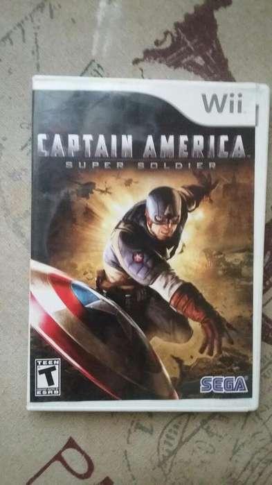 Juego Nintendo Wii Capitan America