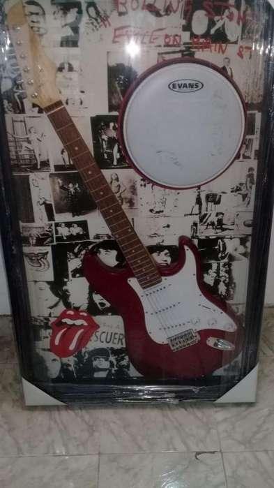 Guitarra eléctrica the rolling stones