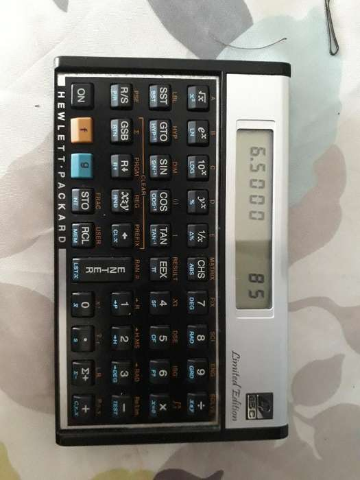 <strong>calculadora</strong> Finaciera Hp Edicion Limited