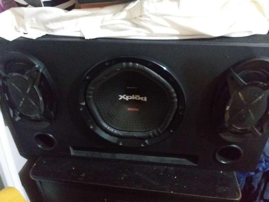 Audio Car Sony Xplod