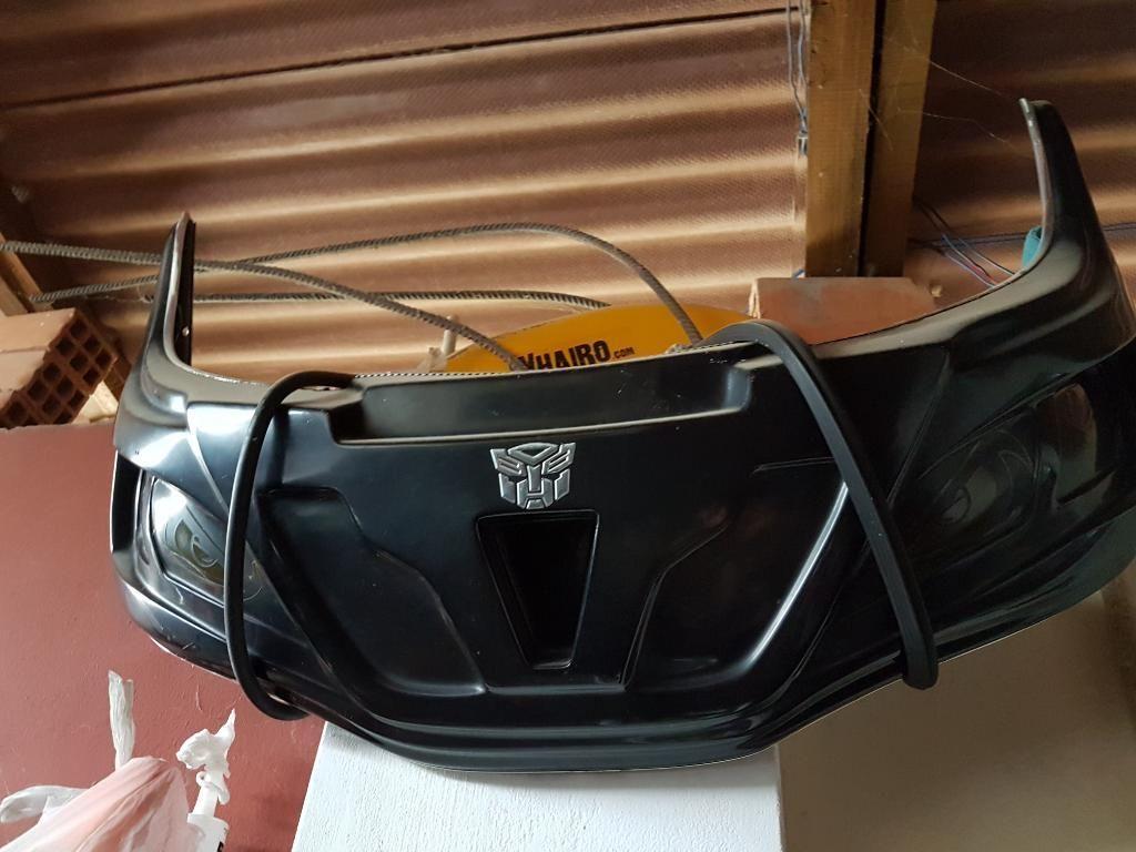 Mascara de Moto Bajaj Y Parte Trasera