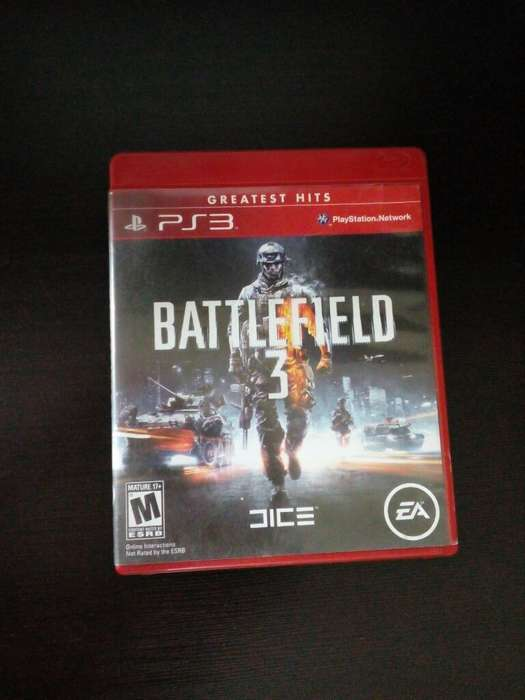 Battlefield 3 Ps3 Play 3 Perfecto Estado Cambio o Vendo