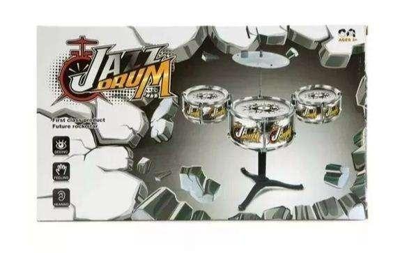 Batería De Juguete 5 Tambores Jazz Drum Para Niño Y Niña