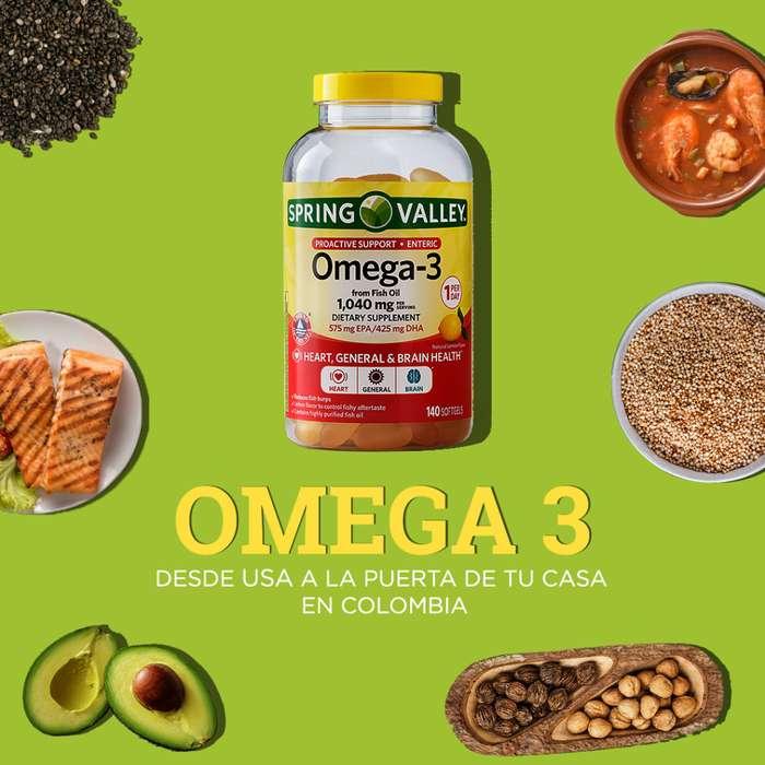 3 frascos de Omega 3 por 500 mg