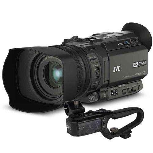Filmadora Profesional JVC 4K Modelo GY-HM170UA, 3.5