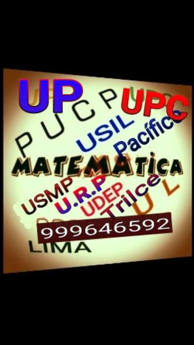 Matematica.clases Particulares. Delivery