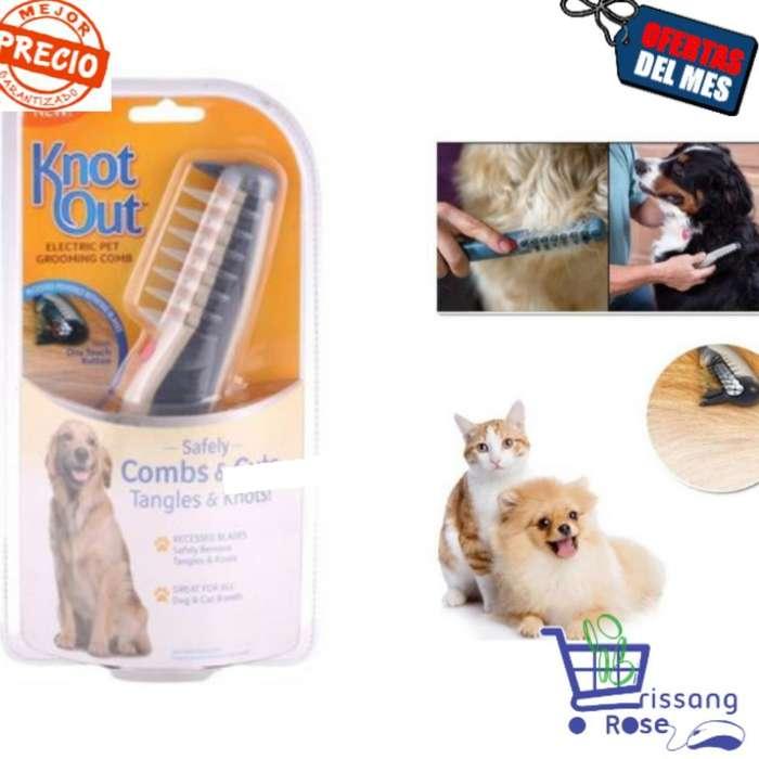 Knot Out Electrico Cepillo Perros Gatos