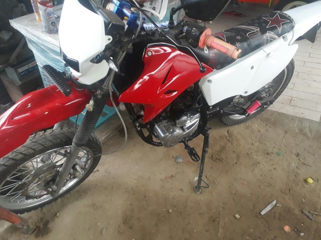 Vendo Moto Sukida 200 Recien Matriculada
