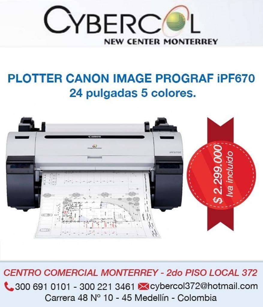 plotter Canon Image Prograf Ip670