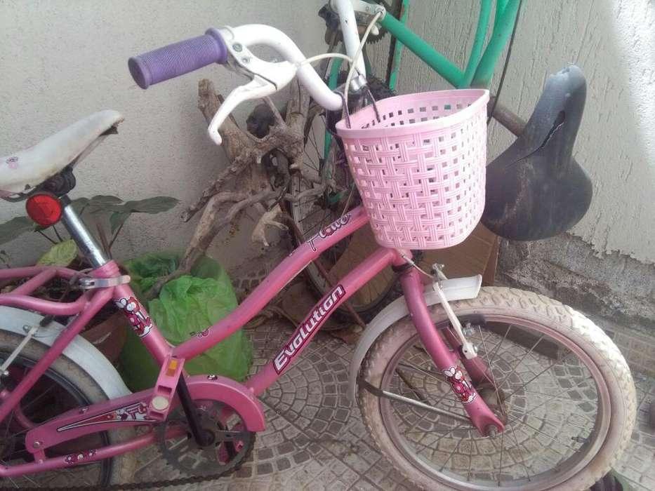 Vendo Bici de Nena Rodado 16