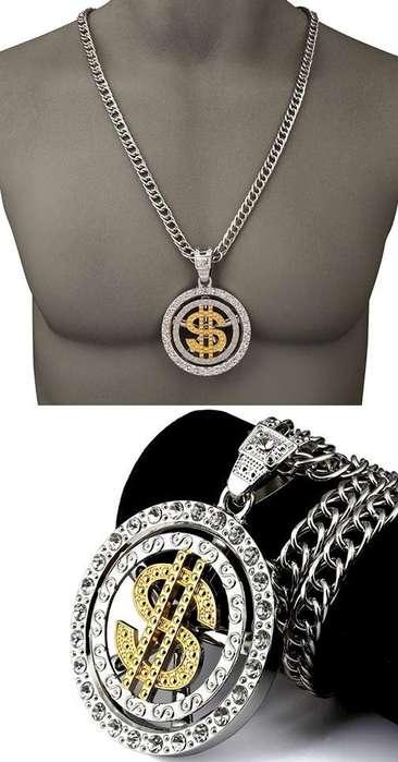 Collar Hip hop dolar