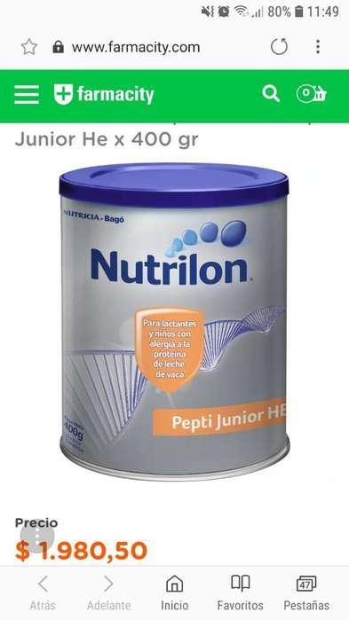 Leche Pepti Junior He Nutrilon