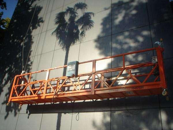Andamios colgantes para limpieza de fachadas CEL 3102848107