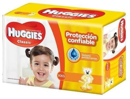 Pañales huggies classic XXG x56 pañales pack x2 paquetes ULTIMOS DIAS