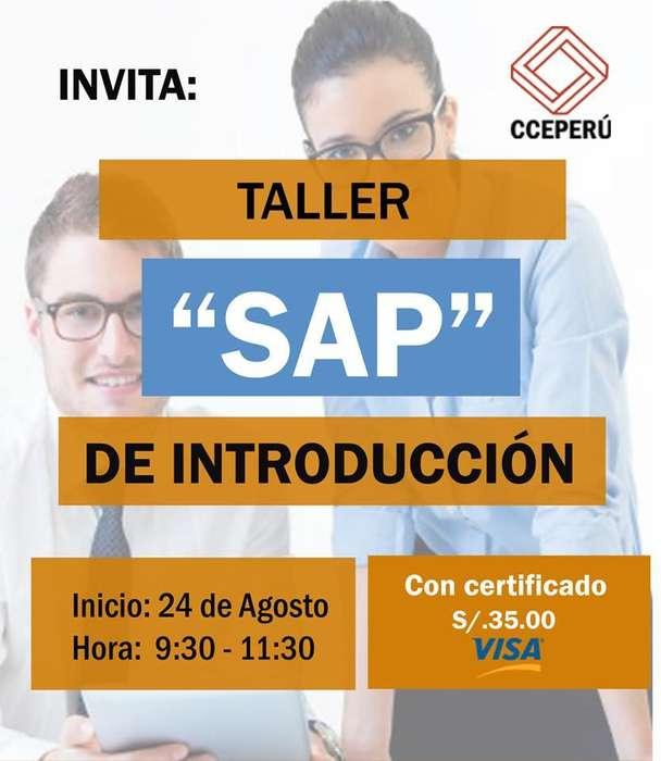 TALLER GRATUITO SAP INTRODUCCION