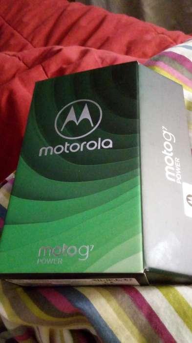 Vendo Moto G7 Power Libre