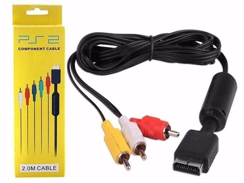Cable Rca av para Playstationps1, ps2, ps3 nuevo 18000