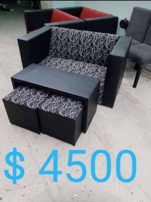 <strong>sofa</strong> Mesa 2 Puff 5990 Bahia Blanca