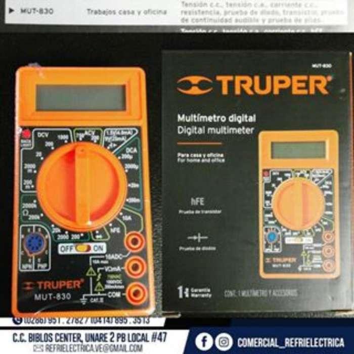 Multímetro Digital Marca Truper Garantía