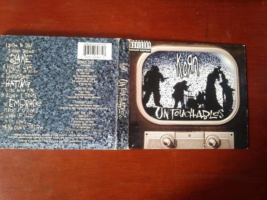 Cds Originales Korg Álbum Doble