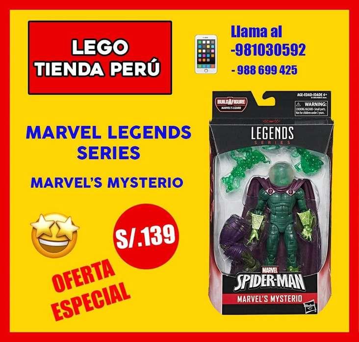 Spiderman Misterio Figura Articulada LEGENDS SERIES SPIDERMAN LEJOS DE CASA