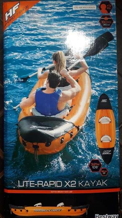 Vendo Kayak Nuevo sin Uso para 2 Persona