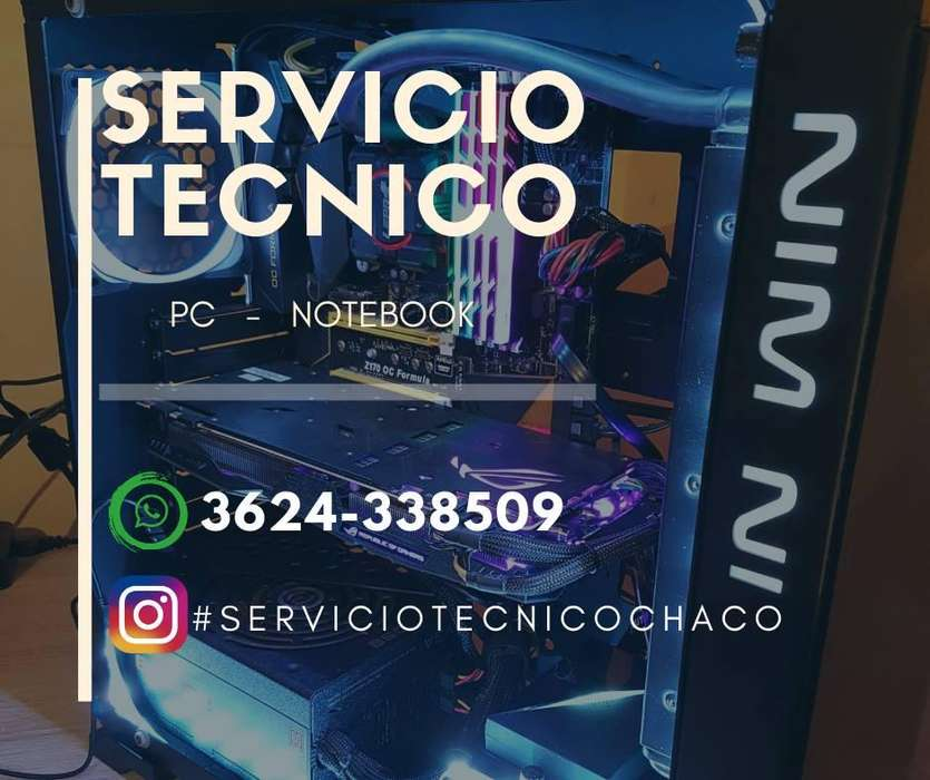Servicio Tecnico de pc - notebook