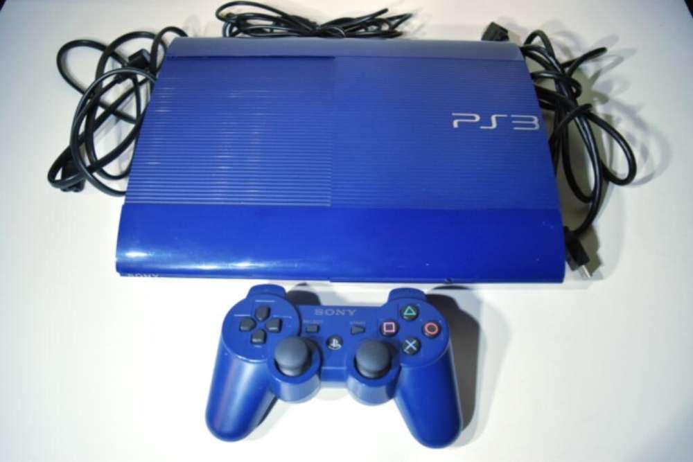 Playstation 3 Blue Edition