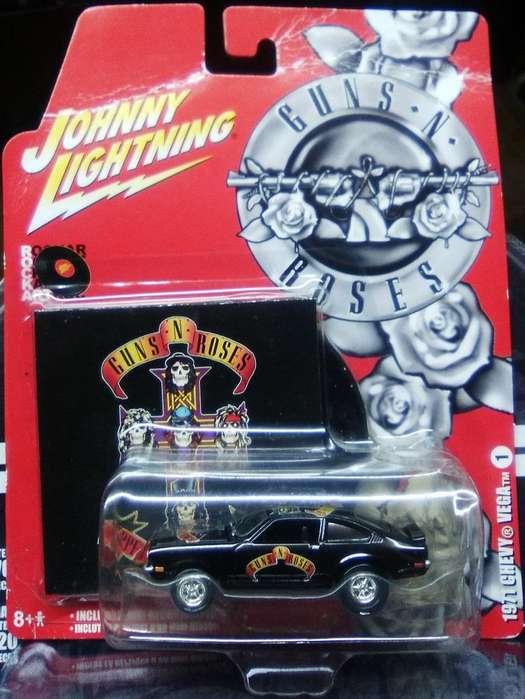 Johnny Lightning 1971 Chevy Vega Guns N' Roses similar Hot Wheels