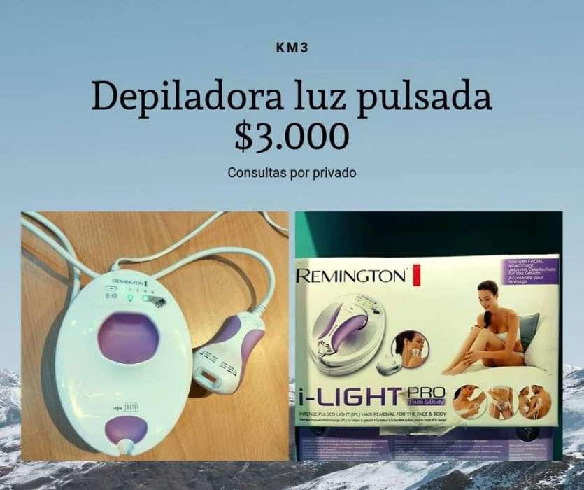 Depiladora Luz Pulsada