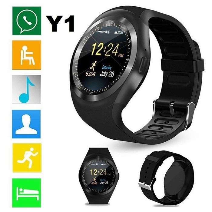 Smartwatch y1 Reloj Inteligente BLUETOOTH LLAMADAS SIM SD