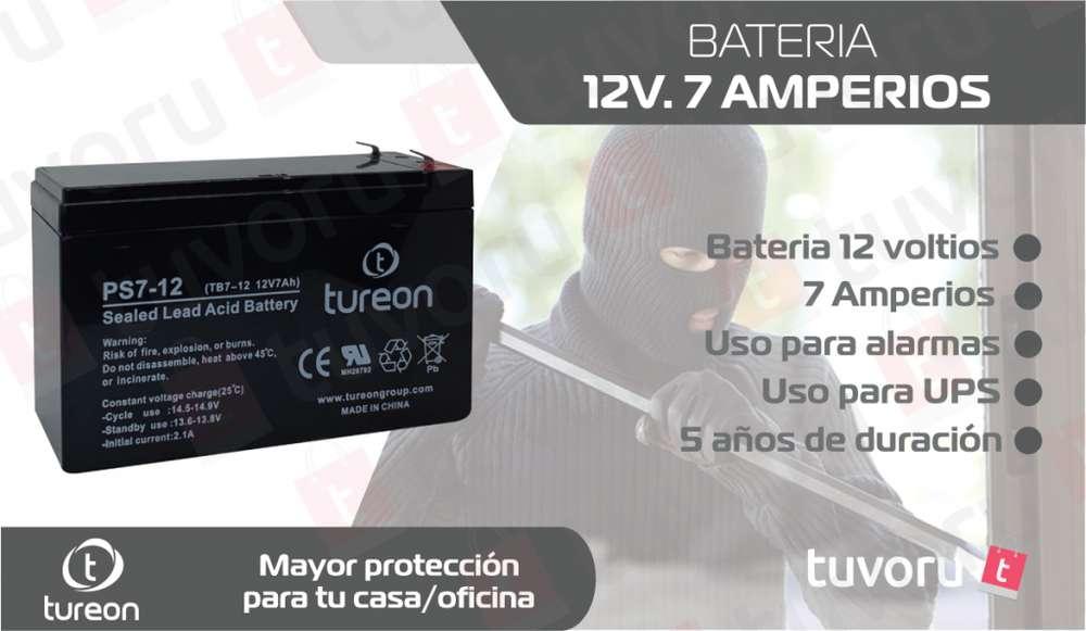 <strong>bateria</strong> 12-Voltios / 7-Amperios