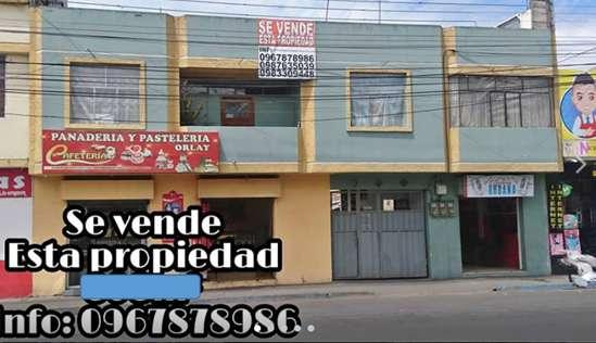 Se vende propiedad en el sector de la terminal terrestre Riobamba