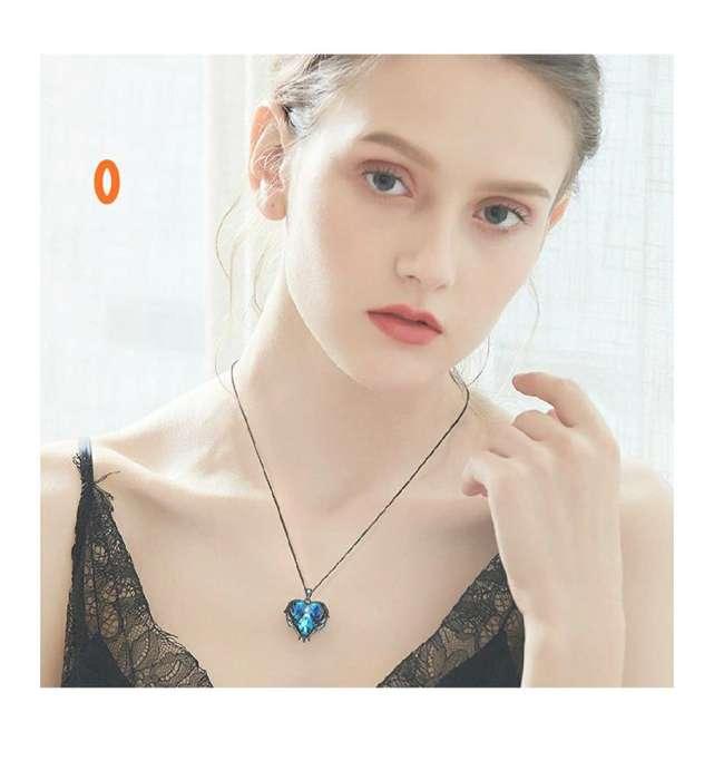 Collar con Cristales Swarovski Oro Blanc