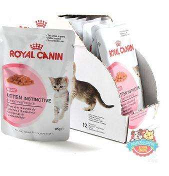 Royal Canin Kitten Instinctive in Jelly - 85 gr - 12 unidades