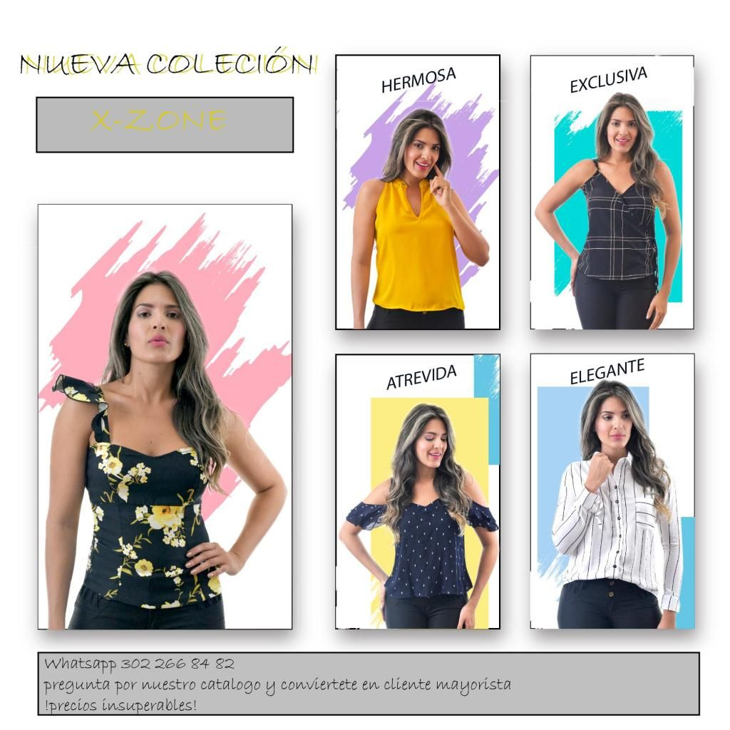 9ff09f48b blusas de dama al por mayor y al detal - Medellín