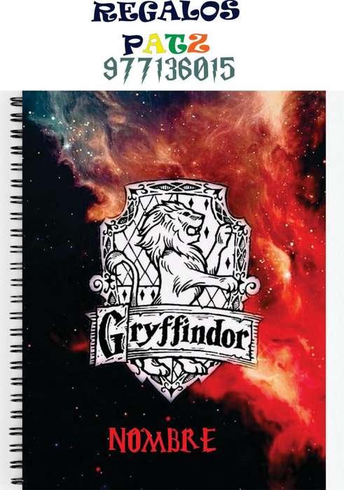 Cuadernos personalizados Harry Potter