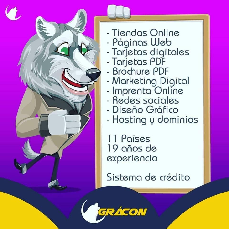 DISEÑO DE PAGINAS WEB- TIEENDAS ONLINE -MARKETING -COMUNITY MANAGER