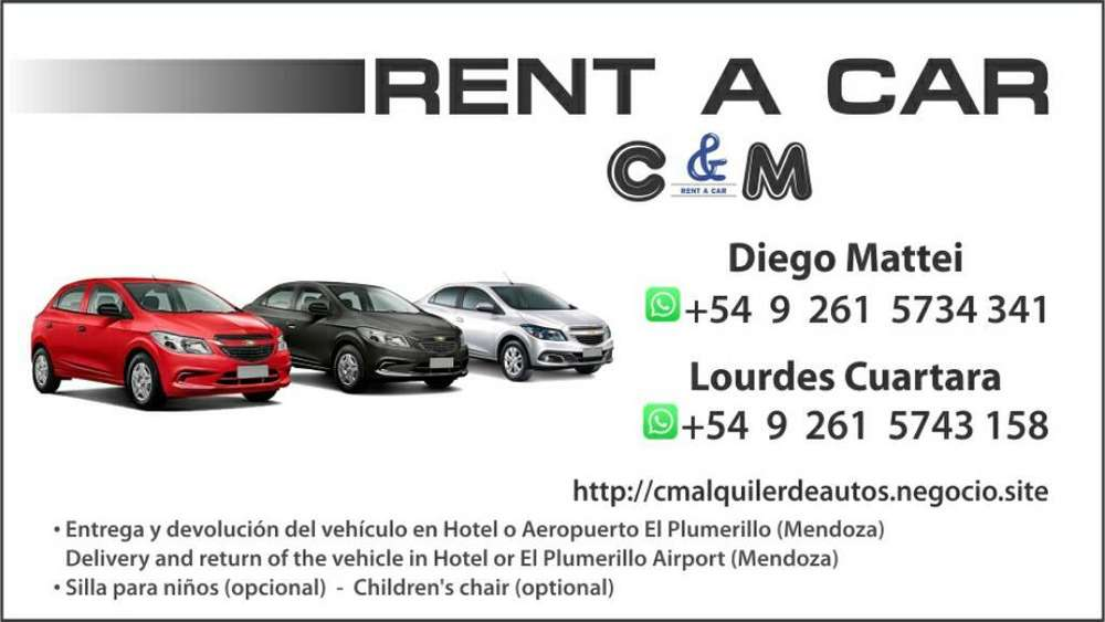 Alquiler de Autos sin Chofer. Rent a Car