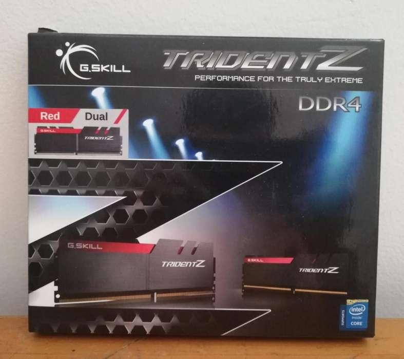 G Skill Trident Z 16GB 8x2 DDR4 4000MHZ