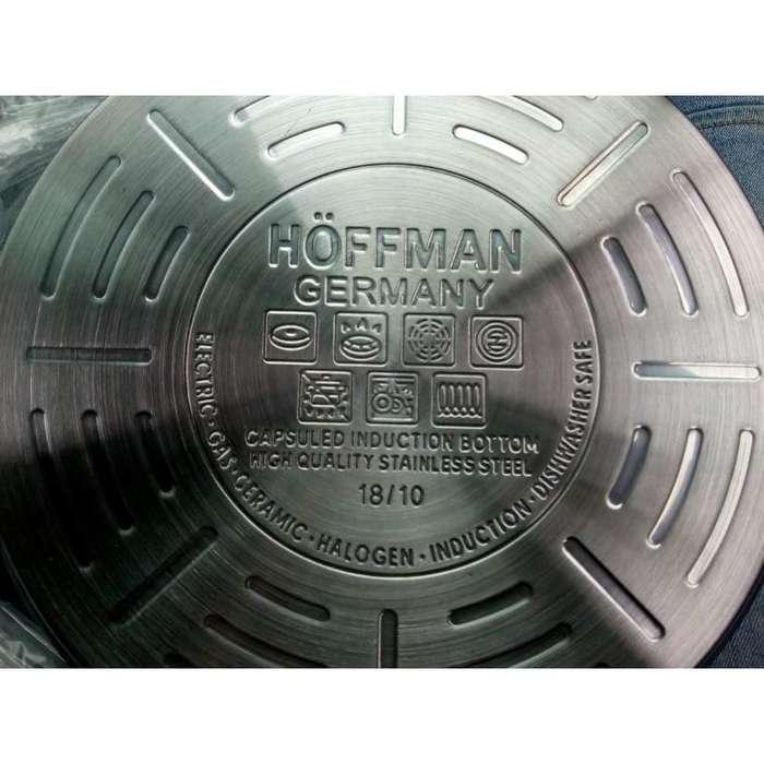 Ollas Acero Quirurgico Hoffman 12 Piezas