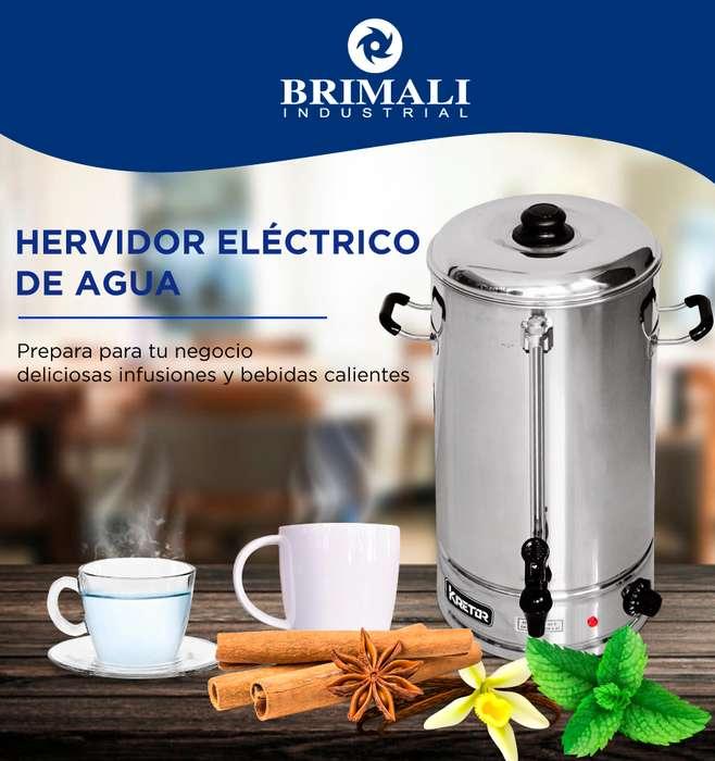 HERVIDOR DE AGUA INDUSTRIAL / BRIMALI INDUSTRIAL