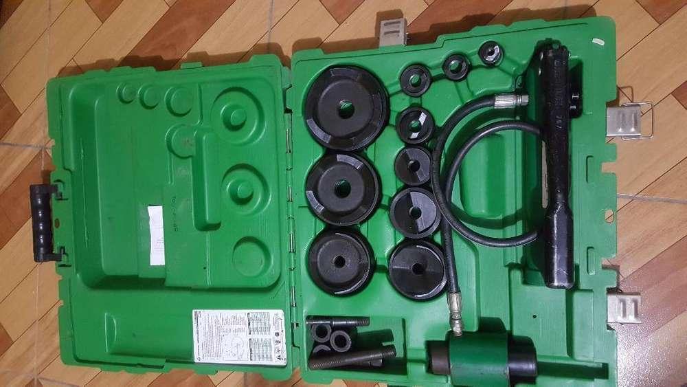 Sacabocado Hidraulico Grenlee