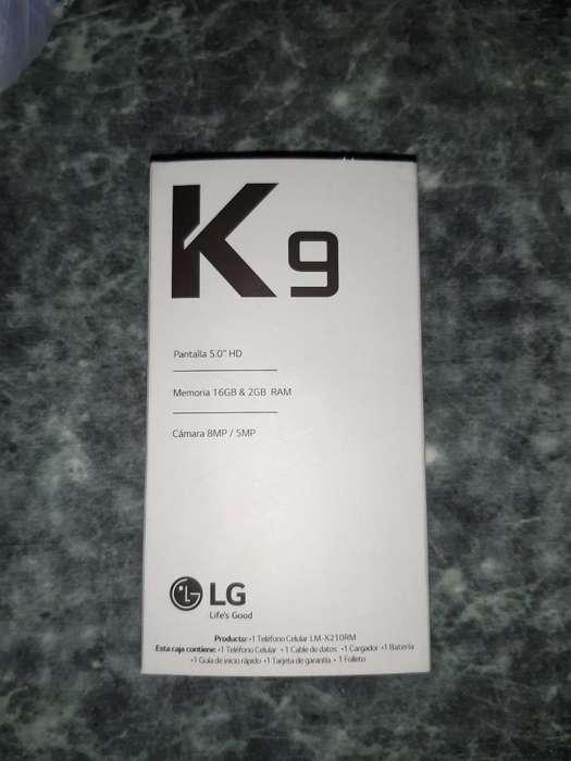 Lg K9 Nuevo.libre de Fábrica. Solo Vendo