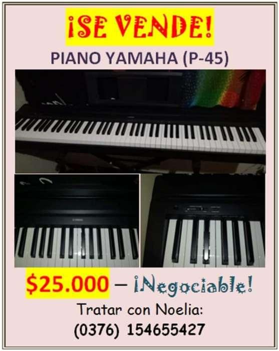 Vendo Piano Yamaha P-45