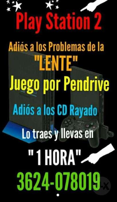 Play 2 Juego Usb Pendriive