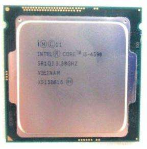-UN PORCESADOR INTEL DE CUARTA GEN. CORE i5 4590 (SR1QJ) 3.3 GHZ, 6 MB CACHE, SOCKET 1150 SOLO PROCE...295.000.oo