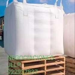 Venta de jumbos o big bag de polipropileno