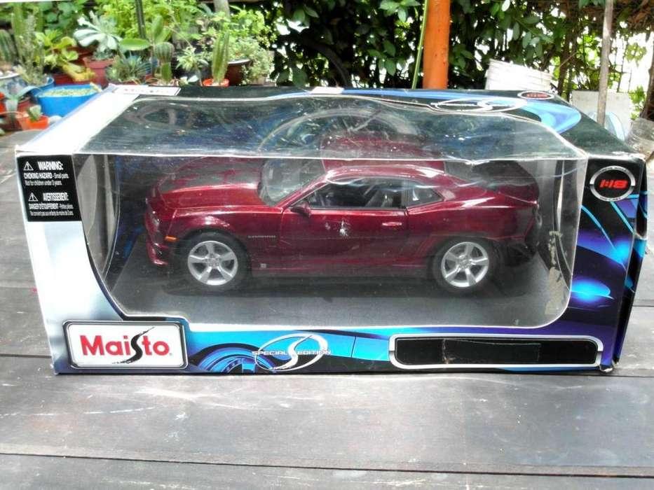 1:18 Chevrolet Camaro SS 2010 Maisto IMPECABLE